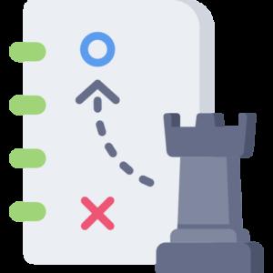 Icono Estrategia de Negocio y Cultura 4.0